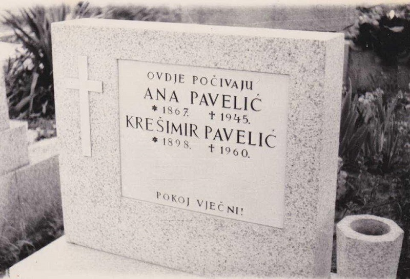 letter on a grave croatian roots